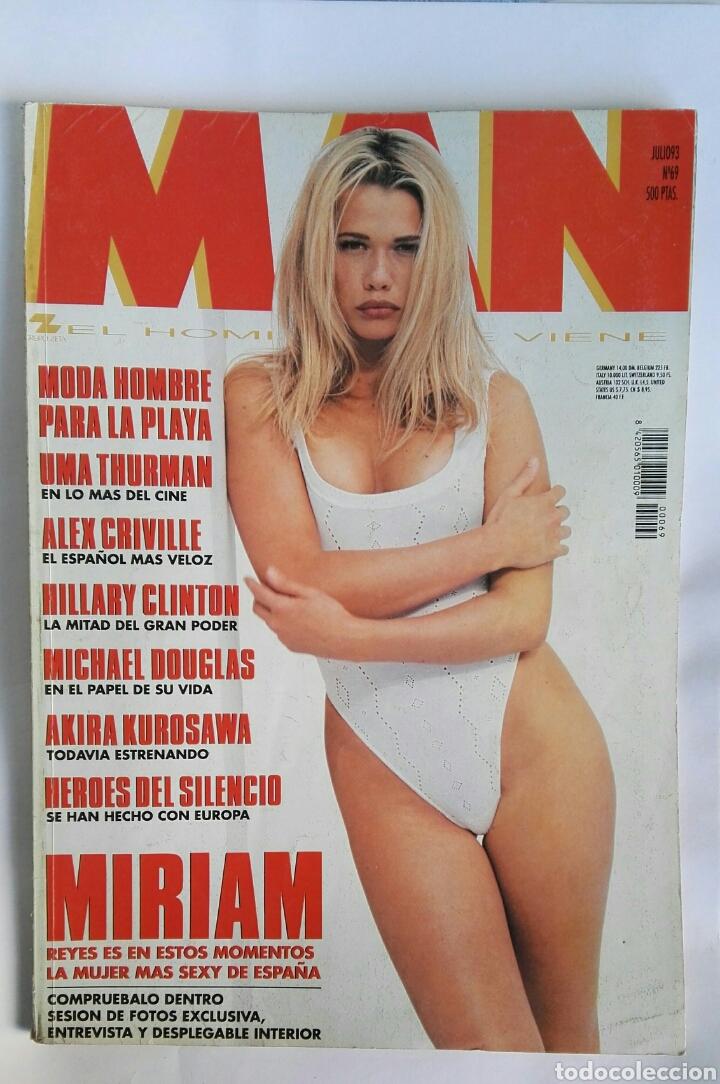 REVISTA MAN MIRIAM REYES (Coleccionismo - Revistas y Periódicos Modernos (a partir de 1.940) - Otros)