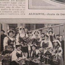 Coleccionismo de Revistas y Periódicos: ALICANTE TRAJE NAPOLITANAS VALENCIANAS CRIMEN RIF SECUESTRO NIÑOS BARCELONA E.MARTI RIPOLLES 1912. Lote 181481146