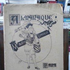 Coleccionismo de Revistas y Periódicos: MADRID CÓMICO - ALMANAQUE 1897. Lote 181554698