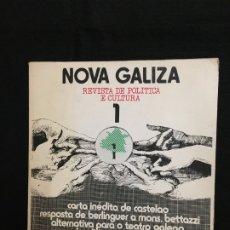 Coleccionismo de Revistas y Periódicos: NOVA GALIZA. REVISTA DE POLITICA E CULTURA. NÚMS. 1 Y 2 -TODO LO PUBLICADO- SANTIAGO. 1978.. Lote 181875283