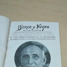 Coleccionismo de Revistas y Periódicos: REVISTAS ILUSTRADAS BLANCO NEGRO. LOTE 18 REVISTAS ENCUADERNADAS. Lote 181999522
