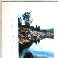 Coleccionismo de Revistas y Periódicos: REVISTA KARONTE FILOSOFÍA Y LETRAS Nº 3 INVIERNO 1995 CÓRDOBA. Lote 182079241