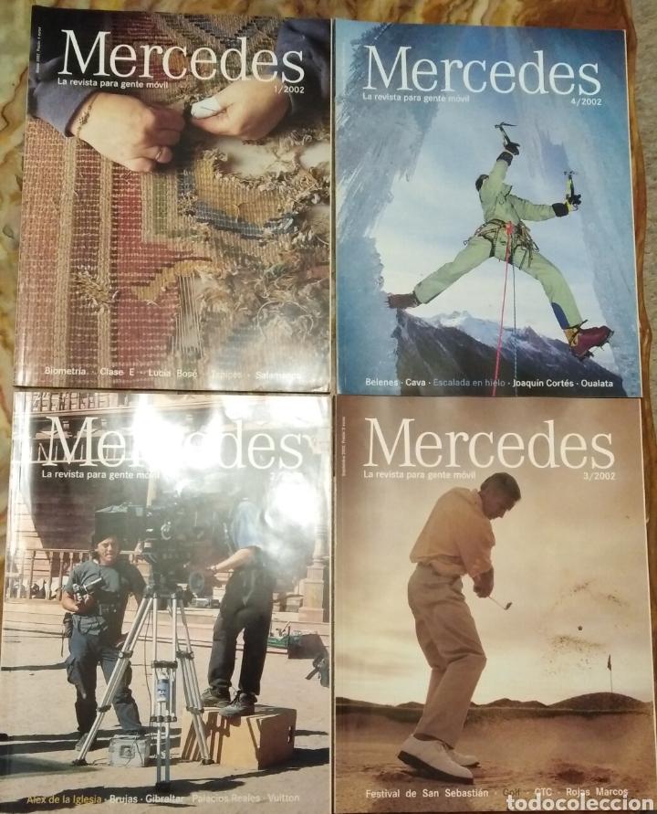 Coleccionismo de Revistas y Periódicos: Revistas Mercedes Benz - Foto 2 - 182121826