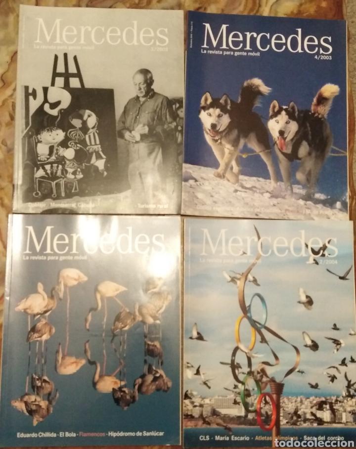 Coleccionismo de Revistas y Periódicos: Revistas Mercedes Benz - Foto 3 - 182121826