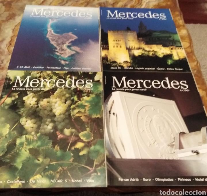 REVISTAS MERCEDES BENZ (Coleccionismo - Revistas y Periódicos Modernos (a partir de 1.940) - Otros)