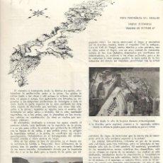 Coleccionismo de Revistas y Periódicos: AÑO 1954 PANTANO OLIANA DIBUJO VILARO MANRESA BAR MOKA BOMBEROS RESTAURACION RETABLO SANT ESPERIT. Lote 182233552