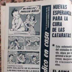 Coleccionismo de Revistas y Periódicos: ANUNCIO COLGATE. Lote 182288732