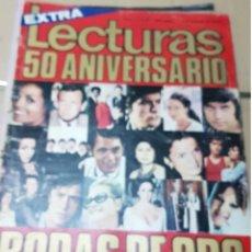 Coleccionismo de Revistas y Periódicos: LOTE ANTIGUAS REVISTAS LECTURAS. Lote 182301878