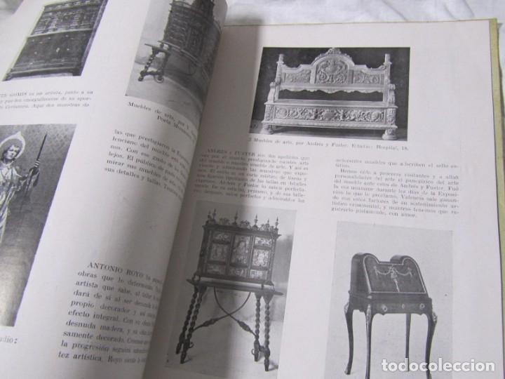 Coleccionismo de Revistas y Periódicos: REvista Ribalta bellas artes nº 27-28 I Demostración de Arte en madera - Foto 7 - 182320535
