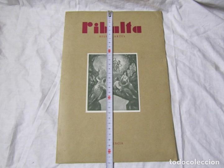 Coleccionismo de Revistas y Periódicos: Revista Ribalta bellas artes nº 38 1947 Valencia - Foto 4 - 182320607