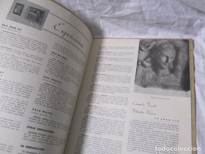 Coleccionismo de Revistas y Periódicos: Revista Ribalta bellas artes nº 38 1947 Valencia - Foto 6 - 182320607