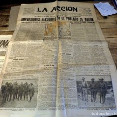 Coleccionismo de Revistas y Periódicos: LA ACCIÓN. DIARIO DE NOCHE. AÑO VI. Nº1.836.. Lote 182368606