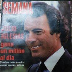 Coleccionismo de Revistas y Periódicos: LOTE ANTIGUAS REVISTAS SEMANA. Lote 182376533