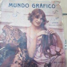 Coleccionismo de Revistas y Periódicos: LOTE ANTIGUAS REVISTAS MUNDO GRAFICO. Lote 182402373