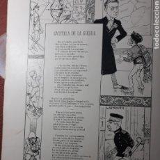 Coleccionismo de Revistas y Periódicos: GACETILLA DE LA GUERRA DE SINESIO DELGADO - HOJA AÑO 1900. Lote 182418595