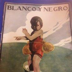 Coleccionismo de Revistas y Periódicos: ANTIGUA REVISTA DE 1924 BLANCO Y NEGRO. Lote 182420178