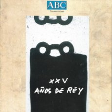 Coleccionismo de Revistas y Periódicos: ABC - NOVIEMBRE 2000 – XV AÑOS DE REY –. Lote 182434815