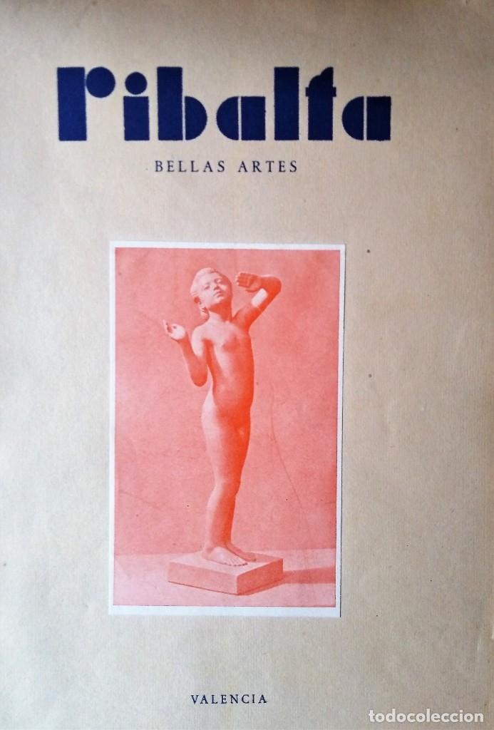 RIBALTA BELLAS ARTES 1947 N 37 (Coleccionismo - Revistas y Periódicos Modernos (a partir de 1.940) - Otros)