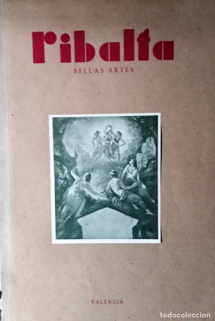 RIBALTA BELLAS ARTES 1947 N 38 (Coleccionismo - Revistas y Periódicos Modernos (a partir de 1.940) - Otros)