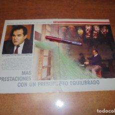 Coleccionismo de Revistas y Periódicos: RETAL 1988: BALANCE RESULTADOS SEG. SOCIAL. ENTREVISTA MINISTRO MANUEL CHAVES. . Lote 182548100