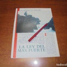 Coleccionismo de Revistas y Periódicos: RETAL 1988: LA CAPTURA DEL PERCEBE. LA LEY DEL MÁS FUERTE - PUBLICIDAD HISPANO RADIO MARÍTIMA.. Lote 182548216