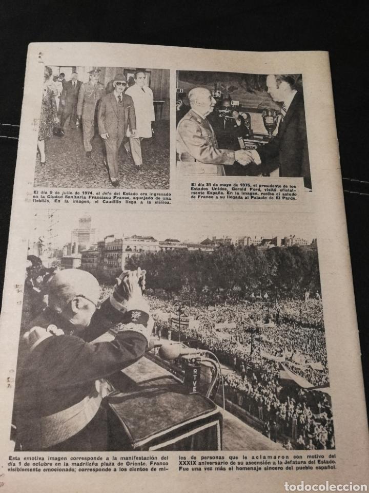 Coleccionismo de Revistas y Periódicos: LOTE PERIÓDICO ABC FRANCO A MUERTO - Foto 3 - 182549631