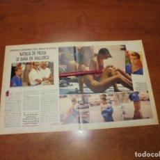 Coleccionismo de Revistas y Periódicos: CLIPPING 1987: NATALIA DE PRUSIA EN MALLORCA. Lote 182552067