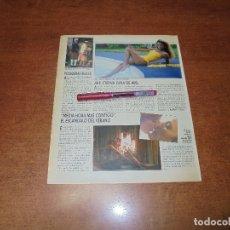 Coleccionismo de Revistas y Periódicos: CLIPPING 1987: JAIR, EX AZAFATA DE SI LO SÉ NO VENGO - ESTRENO DE MEDIA HORA MÁS CONTIGO. Lote 182552078