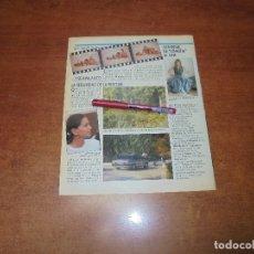 Coleccionismo de Revistas y Periódicos: CLIPPING 1987: ISABEL PREYSLER- CATHERINE OXEMBERG DE DINASTIA. . Lote 182552083