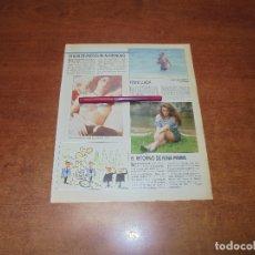 Coleccionismo de Revistas y Periódicos: CLIPPING 1987: SUSAN SARANDON - YENNI LLADA - NINA FERRER. Lote 182552088