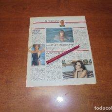 Coleccionismo de Revistas y Periódicos: CLIPPING 1987: MARÍA SCHNEIDER - MARUSTCHKA DETMERS - AGATA LYS. Lote 182552090