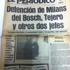 Coleccionismo de Revistas y Periódicos: EL PERIÓDICO - AÑO 1981 (25 FEBRERO). Lote 182576393