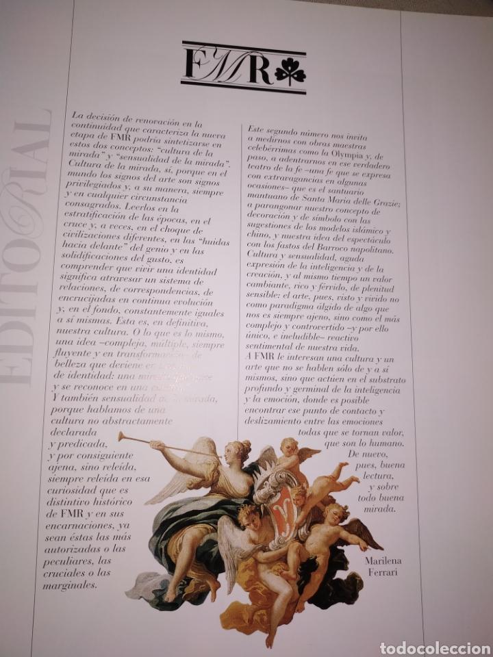 Coleccionismo de Revistas y Periódicos: FMR edición española. N° 1, nueva serie, junio-julio 2004. - Foto 3 - 182596915