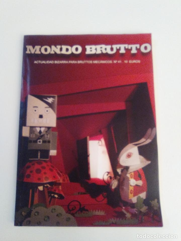 MONDO BRUTTO Nº 41 MUY BUEN ESTADO (Coleccionismo - Revistas y Periódicos Modernos (a partir de 1.940) - Otros)