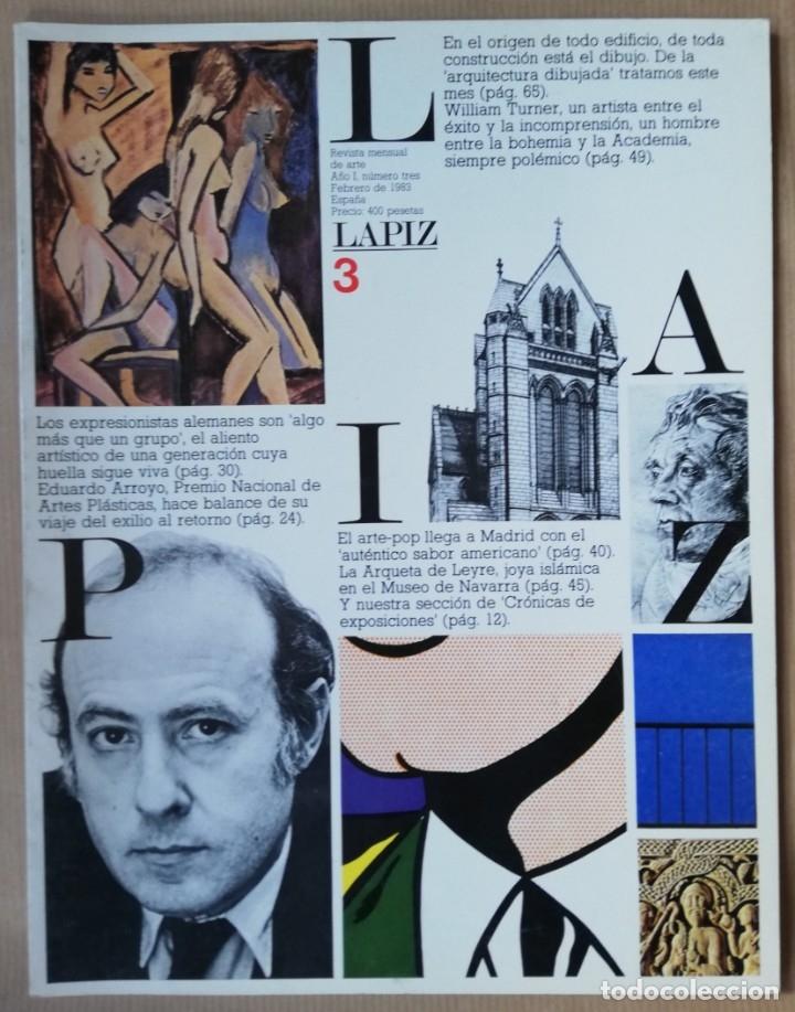 LÁPIZ, REVISTA MENSUAL DE ARTE N 3 - FEB 1983 (Coleccionismo - Revistas y Periódicos Modernos (a partir de 1.940) - Otros)