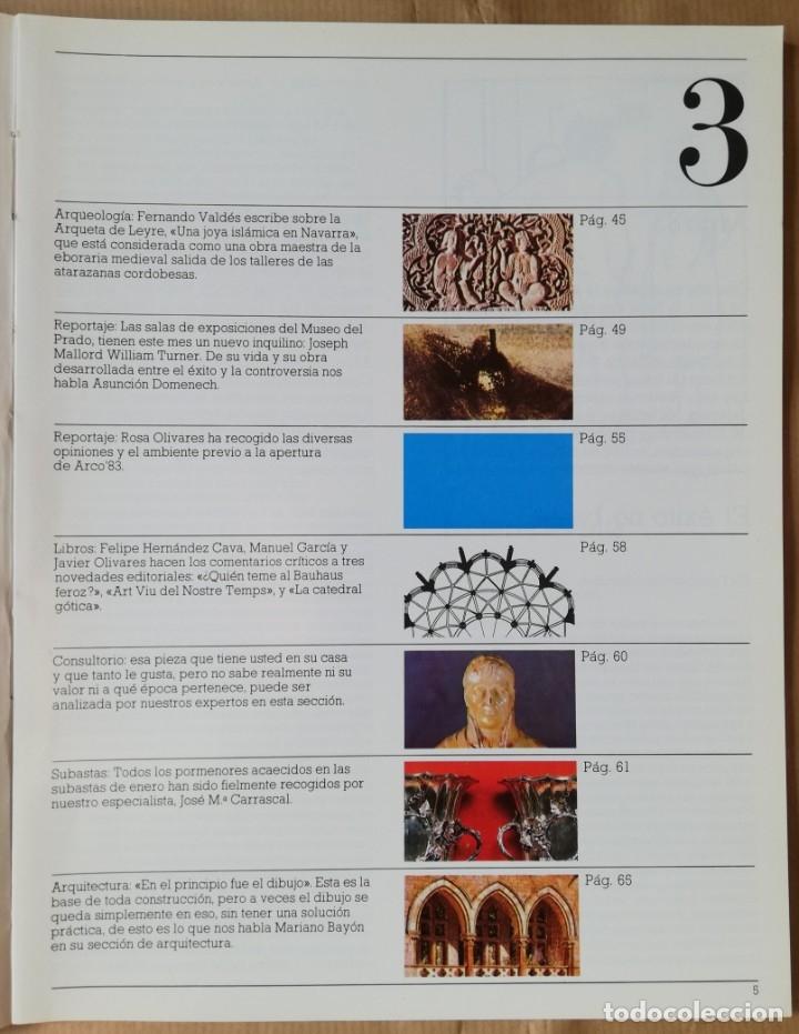 Coleccionismo de Revistas y Periódicos: Lápiz, revista mensual de arte n 3 - Feb 1983 - Foto 4 - 182664270
