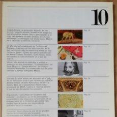 Coleccionismo de Revistas y Periódicos: LÁPIZ, REVISTA MENSUAL DE ARTE N 10 - NOV 1983. Lote 182664861