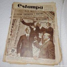 Coleccionismo de Revistas y Periódicos: REVISTA ESTAMPA NÚMERO 343 AÑO 1934.. Lote 182673532