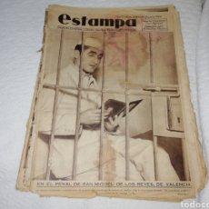 Coleccionismo de Revistas y Periódicos: REVISTA ESTAMPA NÚMERO 338 AÑO 1934.. Lote 182673952