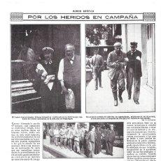 Coleccionismo de Revistas y Periódicos: 1914 HOJA REVISTA I GUERRA MUNDIAL ALEMANIA SOLDADOS HERIDOS BERLIN GÖPPINGEN CRUZ ROJA DAMAS. Lote 182675087