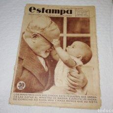Coleccionismo de Revistas y Periódicos: REVISTA ESTAMPA NÚMERO 385 AÑO 1935.. Lote 182675098