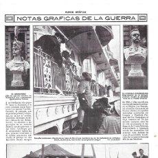 Coleccionismo de Revistas y Periódicos: 1914 HOJA REVISTA I GUERRA MUNDIAL FRANCIA ESTACIÓN DE AUBERVILLIERS DAMAS CRUZ ROJA. Lote 182676516