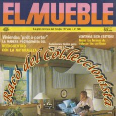 Coleccionismo de Revistas y Periódicos: REVISTA EL MUEBLE, N. 190, AÑO 16, OCTUBRE 1977. Lote 182684321