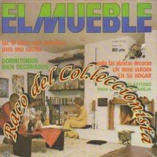 Coleccionismo de Revistas y Periódicos: REVISTA EL MUEBLE, N. 193, AÑO 17, ENERO 1978. Lote 182684955