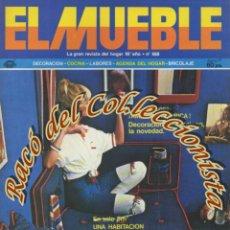 Coleccionismo de Revistas y Periódicos: REVISTA EL MUEBLE, N. 188, AÑO 16, AGOSTO 1977. Lote 182685076