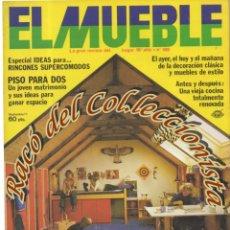 Coleccionismo de Revistas y Periódicos: REVISTA EL MUEBLE, N. 189, AÑO 16, AGOSTO 1977. Lote 182685560