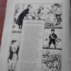 Coleccionismo de Revistas y Periódicos: GACETILLA DE LA GUERRA . SINESIO DELGADO. HOJA AÑO 1900. Lote 182689830