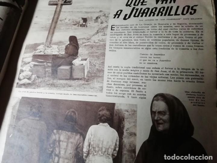 Coleccionismo de Revistas y Periódicos: revista estampa 1934 LAS PENITENTAS DE SAN JUAN ANTONIO DE LOS JUARRILLOS(SEGOVIA) - Foto 2 - 182683561