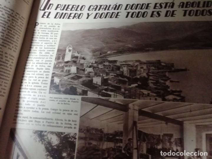 Coleccionismo de Revistas y Periódicos: revista estampa 1934 PORT DE LA SELVA -VIZCAINOS HERENCIA SEÑORIO DE BUTRON-AMPARITO TABERNER - Foto 2 - 182689927