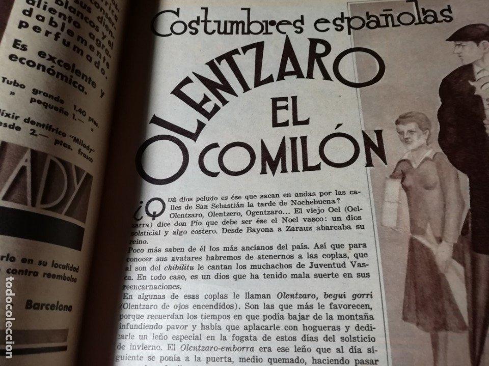 Coleccionismo de Revistas y Periódicos: revista estampa 1935 JUDIOS EN BARCELONA-LAVANDERA ZORITA(CACERES)-OLETZARO-MANTONES - Foto 4 - 182701323